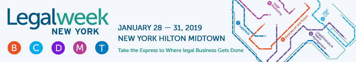 KLST is a PROUD sponsor of Legaltech 2019